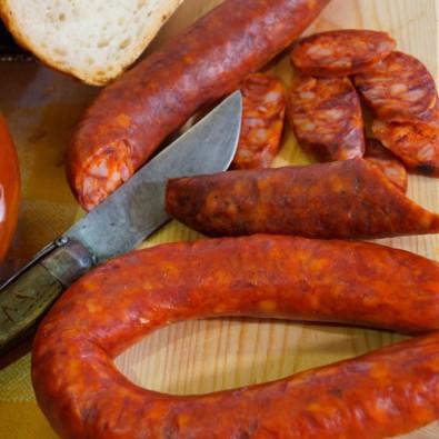 Chorizo sarta curado